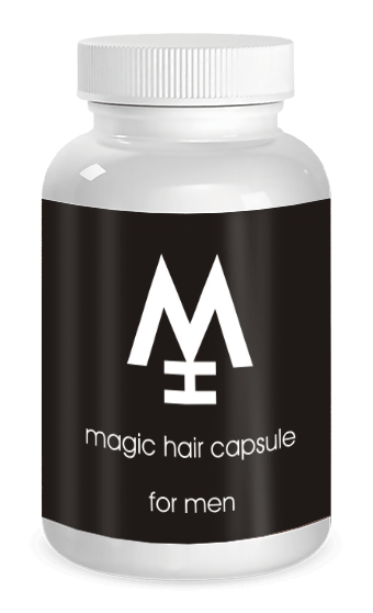 magic hair man block szöveg melette